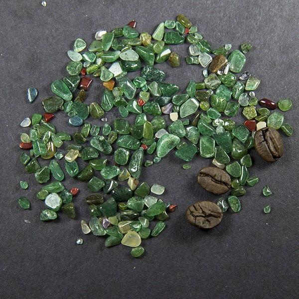 Авантюрин зеленые камни