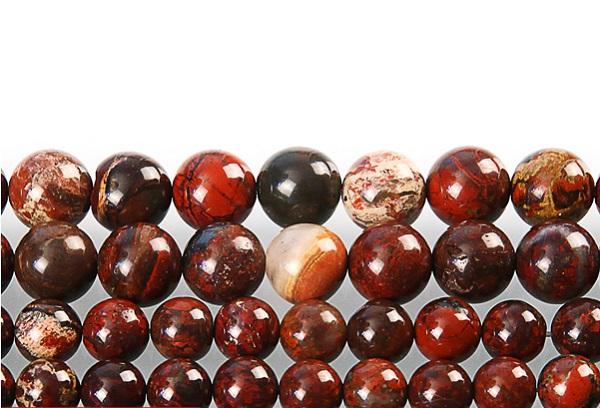 Брекчеевидные камни яшма