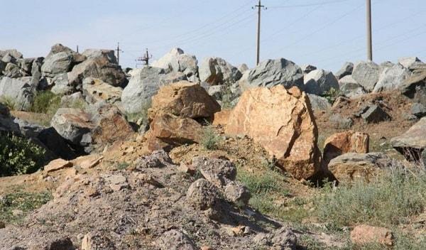 Добыча яшмы в Омске