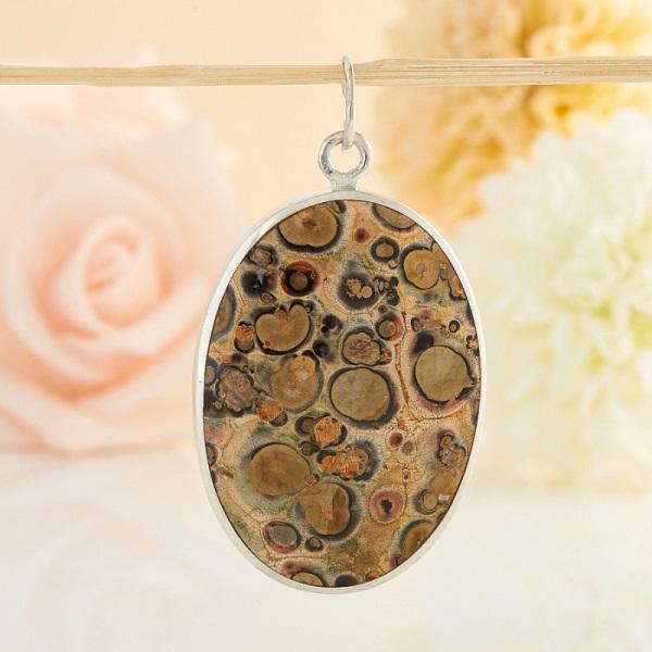 Камень яшма леопардовая