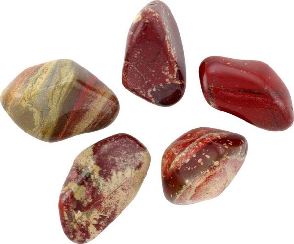 Камни яшма разных оттенков