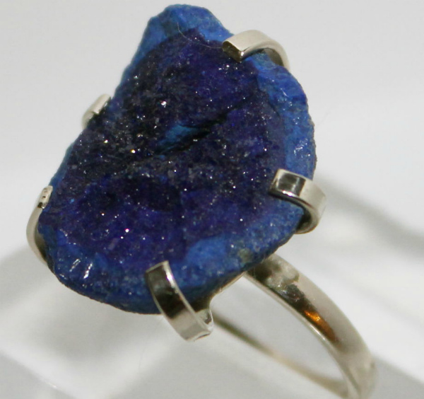 Кольцо из азурита