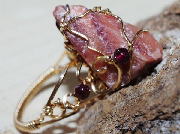 Перстень с азезтулитом
