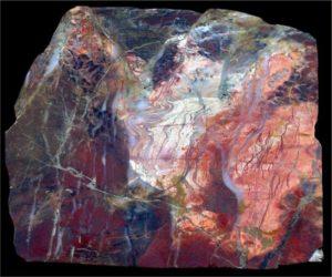 Камень яшма пейзажная