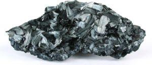 Минеральный камень пиролюзит