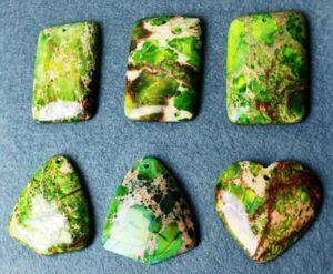 Камень варисцит - фото