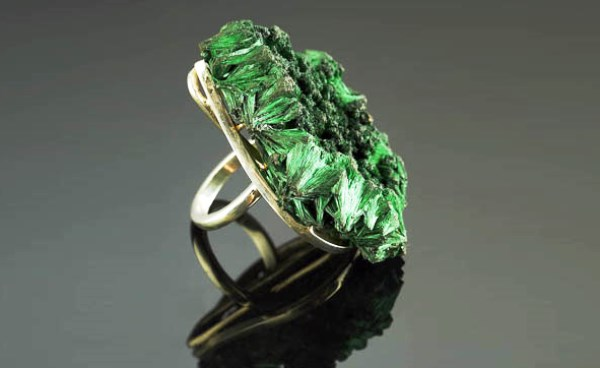Перстень с верделитом